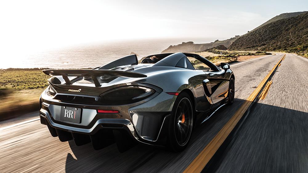 Robb Report's Best Convertible 2019, the McLaren 600LT Spider
