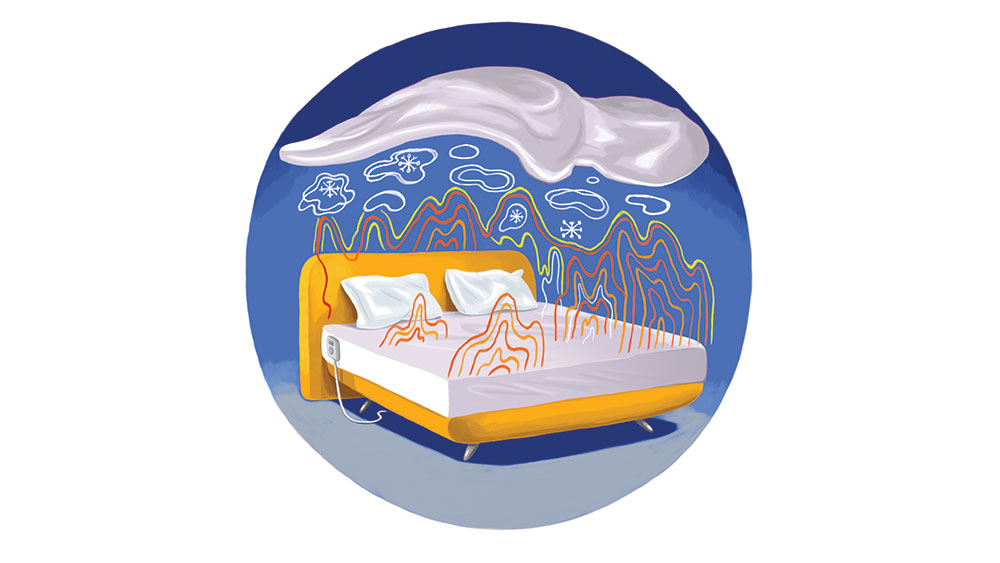 Temperature control is essential to a good night's sleep.