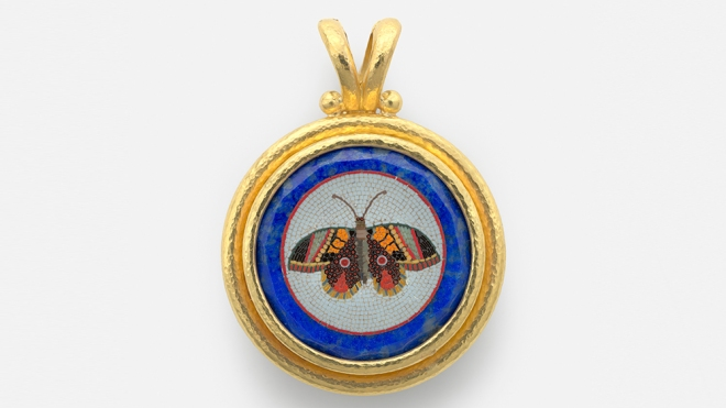 A 19th century micromosaic from Elizabeth Locke's collection