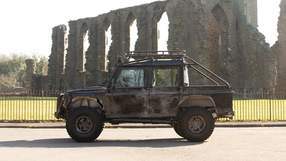 Bowler's 2015 Land Rover Defender SVX Concept.