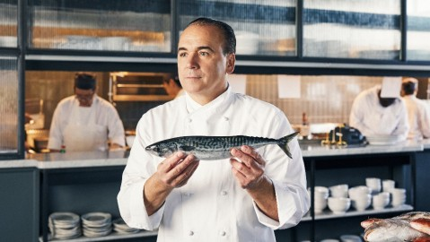 Fulton seafood restaurant from chef Jean-Georges