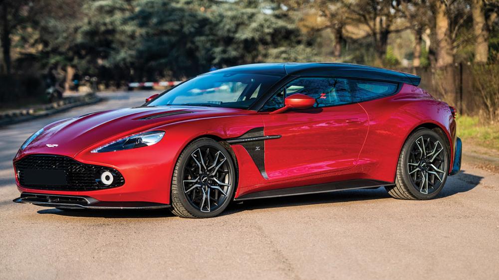 A 2019 Aston Martin Vanquish Zagato Shooting Brake.