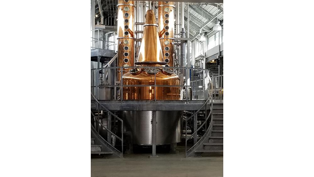 A look inside Bently Heritage Distillery