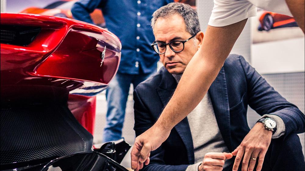 Flavio Manzoni, director of Ferrari Design.