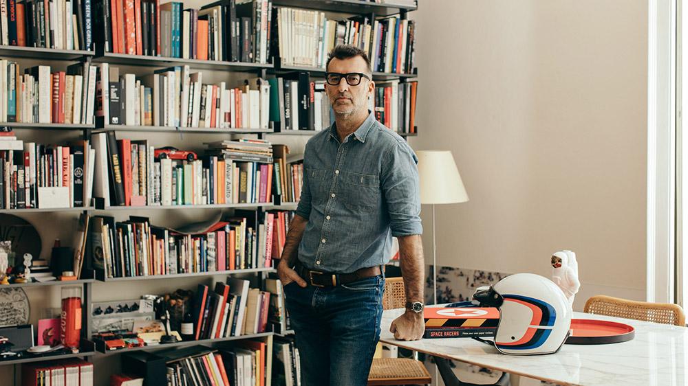 Fashion editor-turned-Tod's visionary Michele Lupi