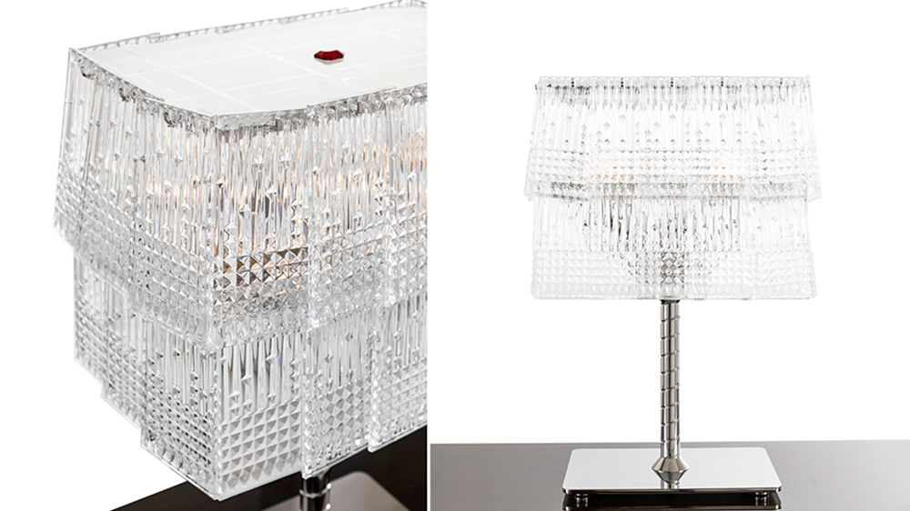 Baccarat La Maison collection table lamp crystal