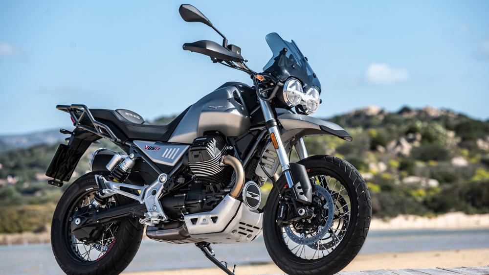 The 2020 Moto Guzzi V85 TT.