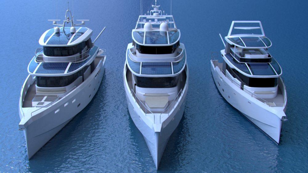 Arksen eco-friendly hybrid yachts