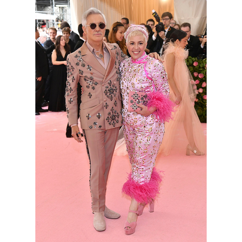 Baz Luhrmann and Catherine Martin at the 2019 Met Gala