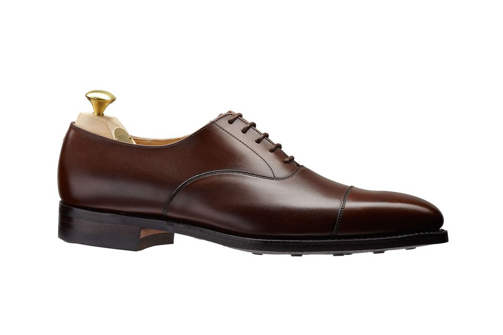 Crockett and Jones Hallam Cap-Toe Shoe