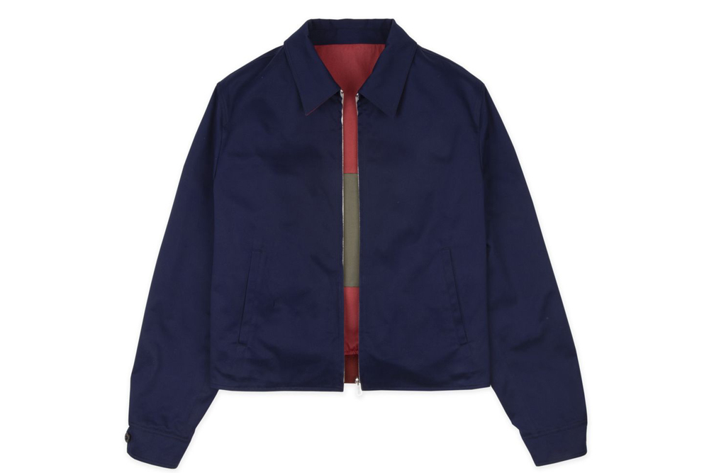 Drakes Reversible Games Jacket