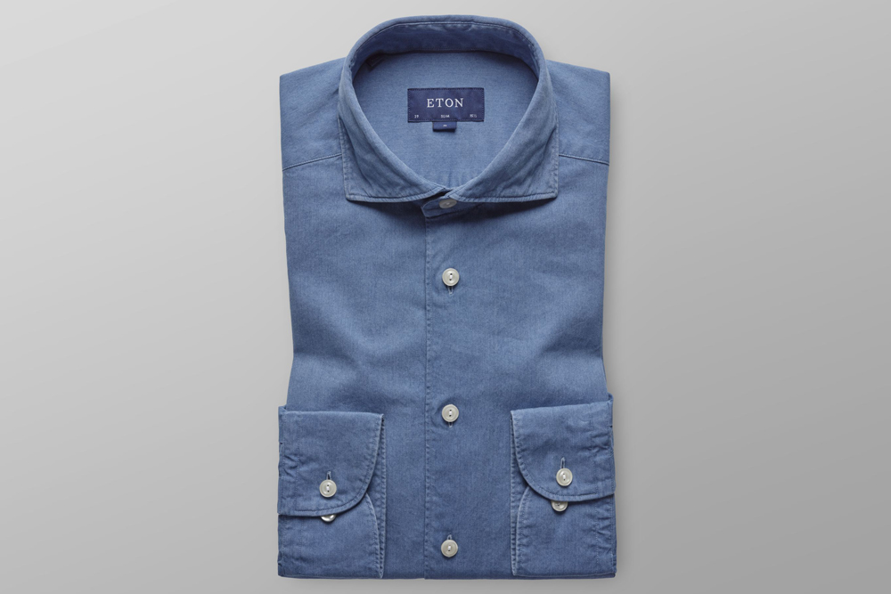Eton Soft Lightweight Denim Shirt
