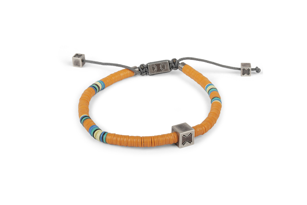 M. Cohen Sterling Silver Raging Saddle Mini-Bead Bracelet