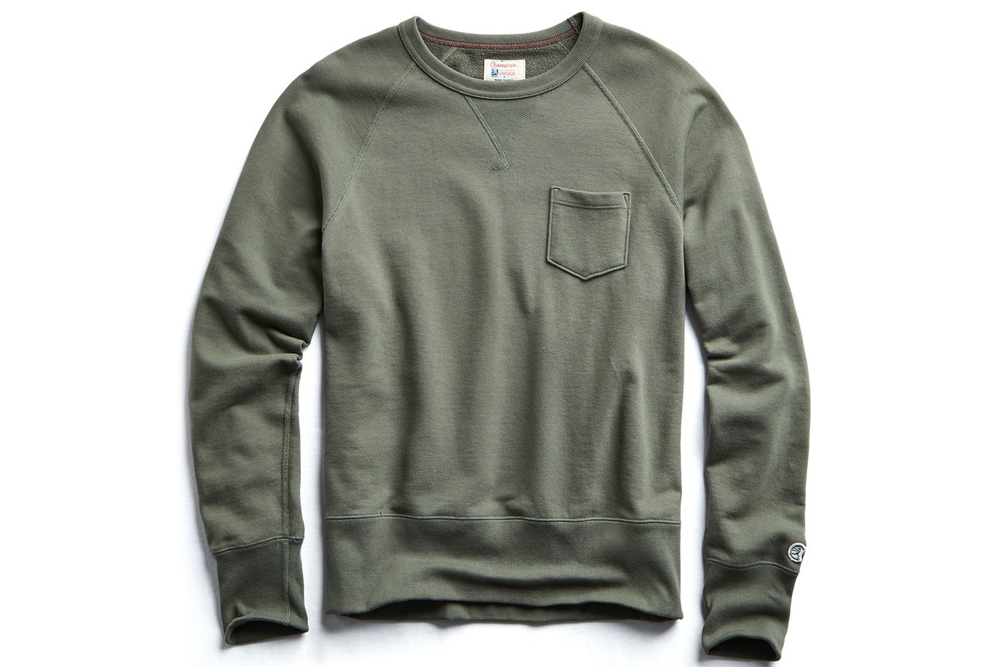Todd Snyder Terry Pocket Sweatshirt