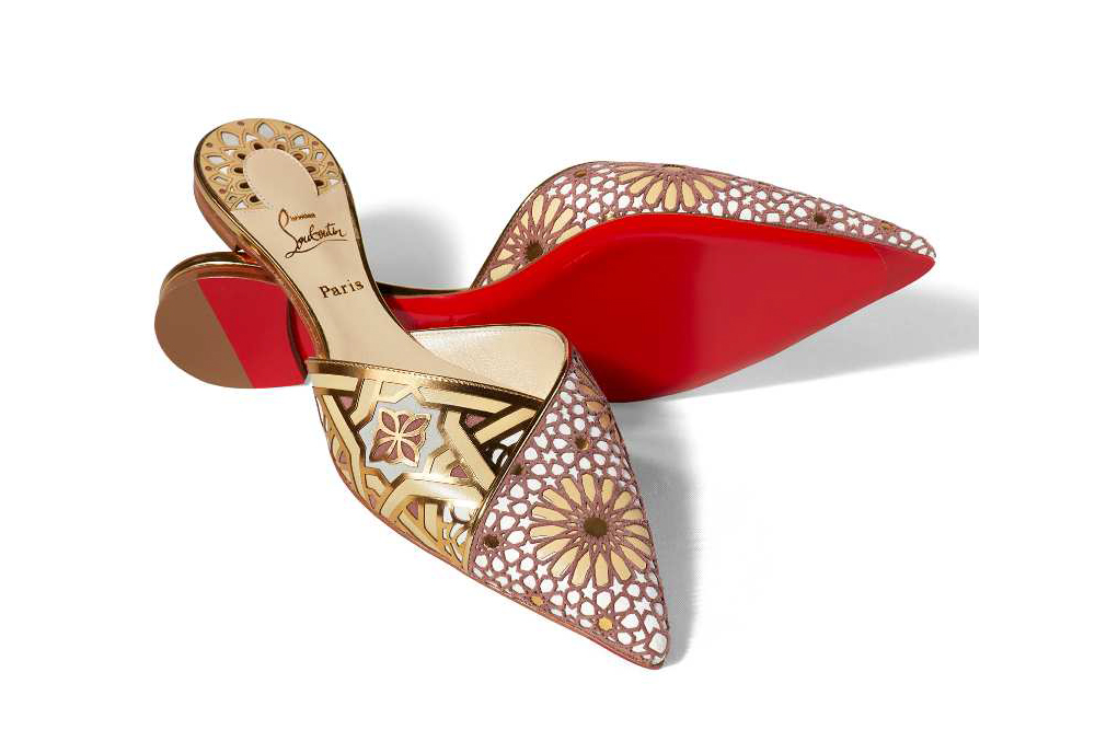 Christian Louboutin Royal Mansour Spa Slippers