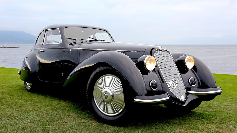 Robb Report's Best Show Car 2019, 1937 Alfa Romeo 8C 2900 Touring Berlinetta