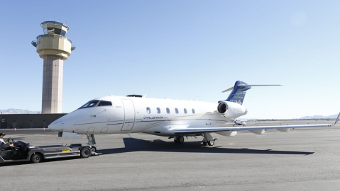 The Bombardier Challenger 300