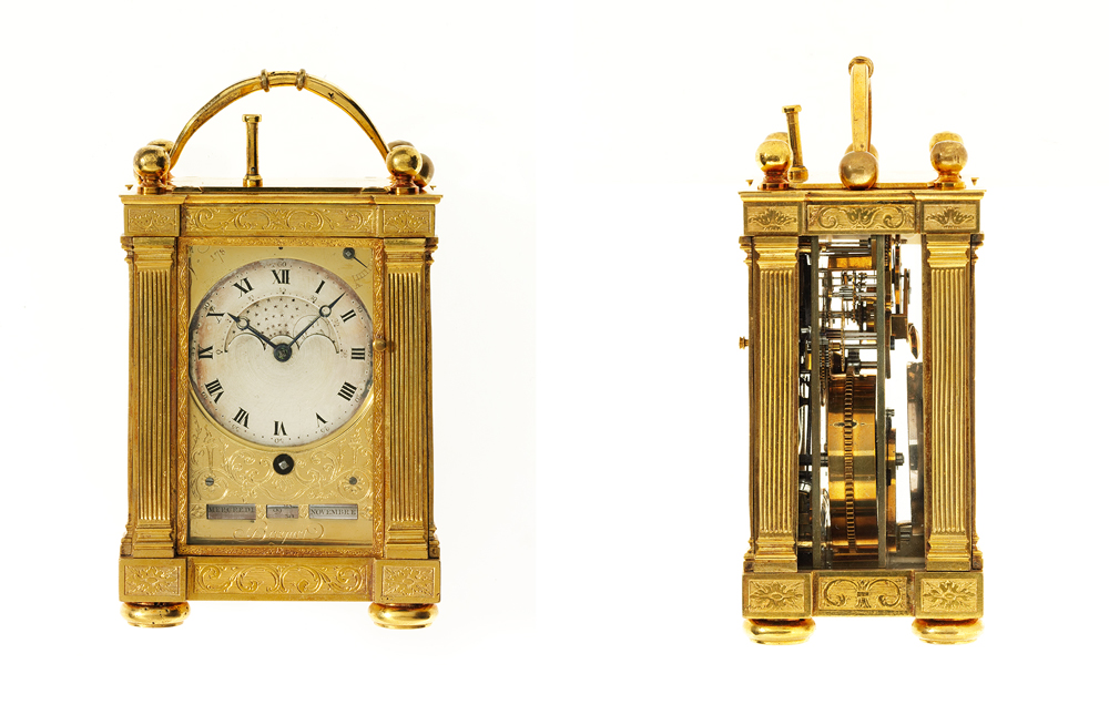 Breguet Napoleon Carriage Clock