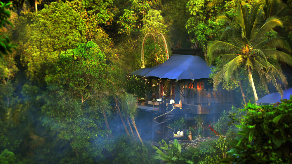 Bensley's Capella Ubud in Bali.