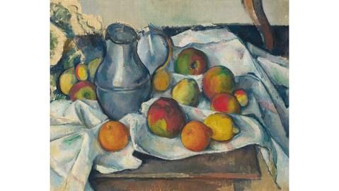 Cezanne, Boullier et fruits