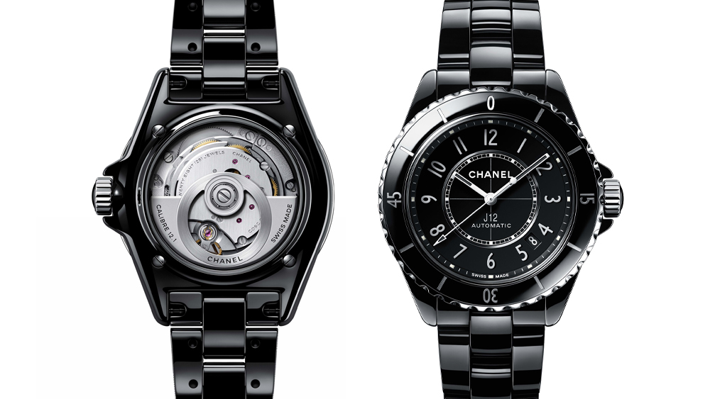 Chanel's updated J12 watch has a new design and a new movement.