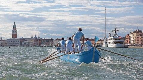 Regatta Storica Venice Italy canal