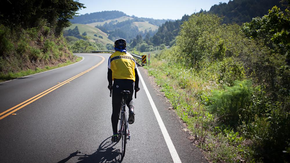 Cycling through California