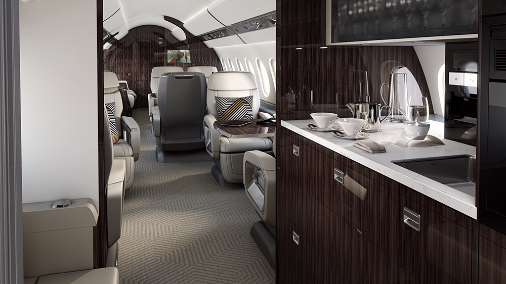 Dassault Aviation Falcon 6X business jet private aviation