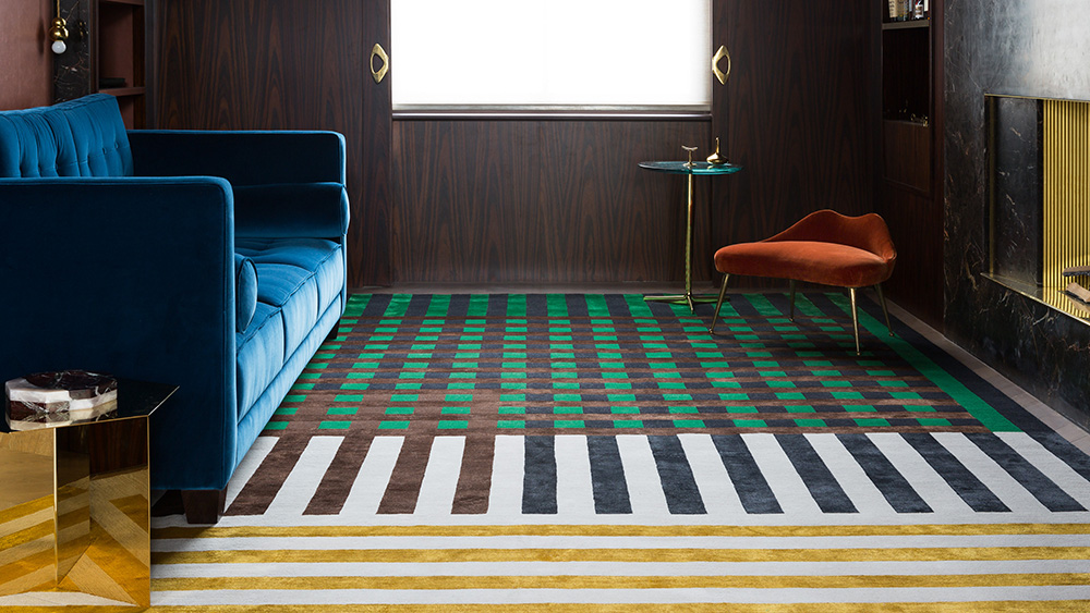 Robb Report's Best Rug 2019, Christopher Kane for the Rug Company
