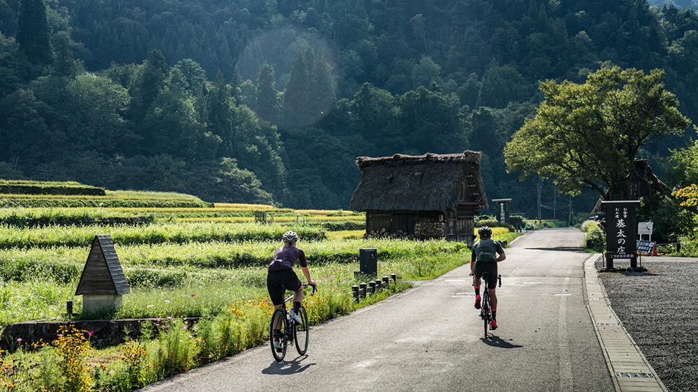 Cycling through Japan