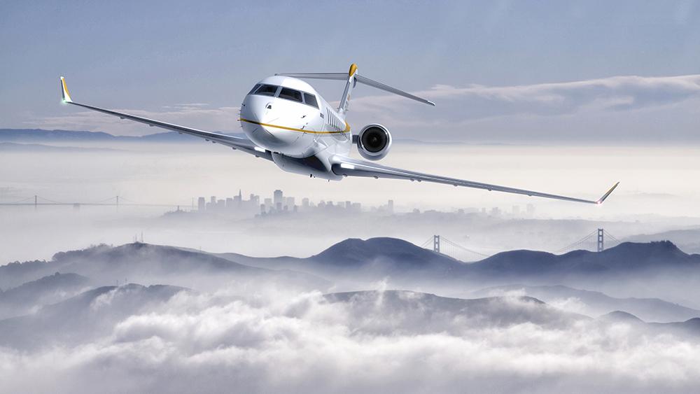 Bombardier Global 7500 business jet long-range jet private aviation
