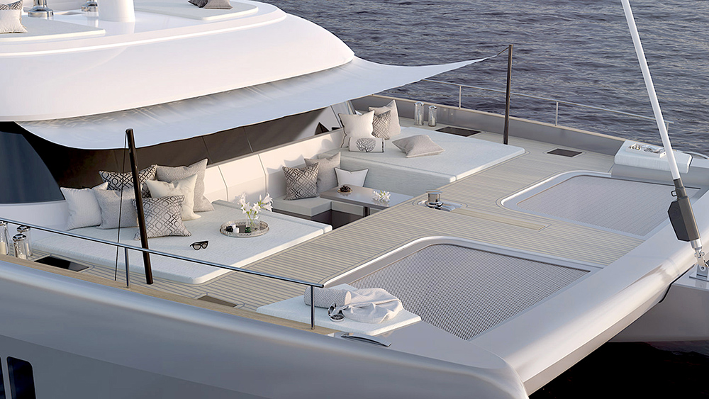 Sunreef 50 Catamaran sailing yacht