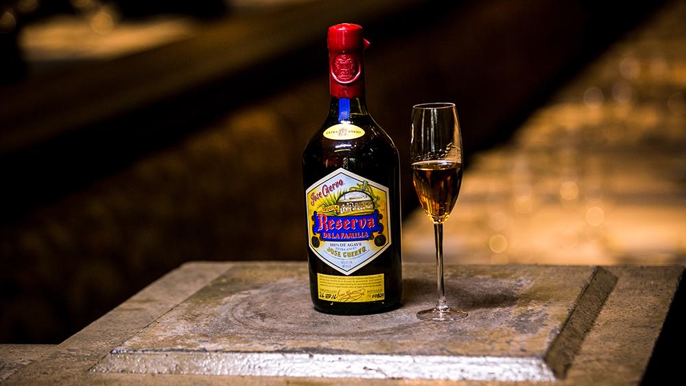 tequila cuervo Reserva