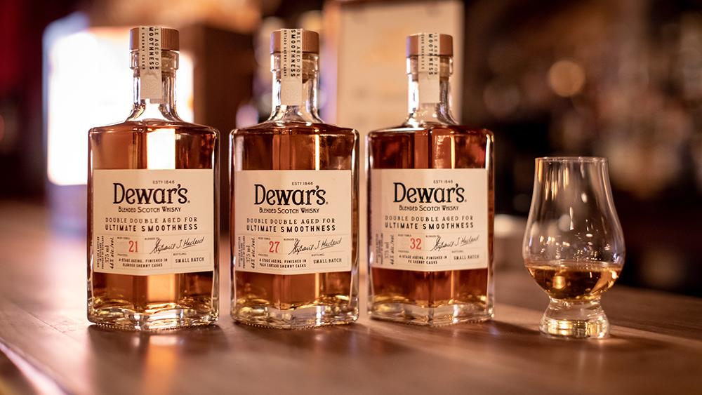 Scotch whisky Dewar's