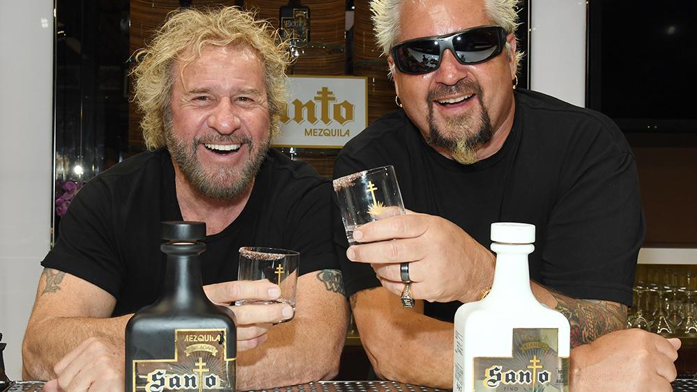 santo fino tequila sammy hagar guy fieri