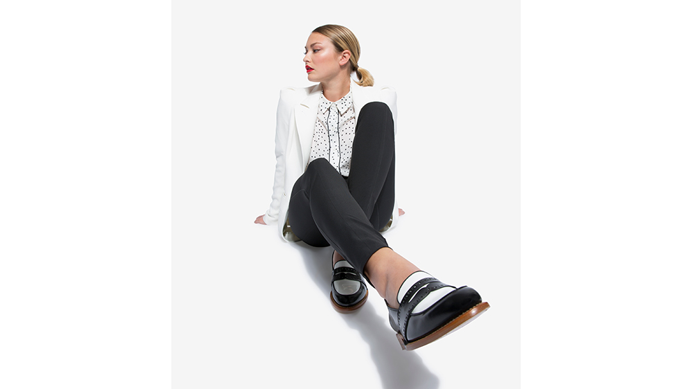 Angela Scott's Miss Madisson loafer