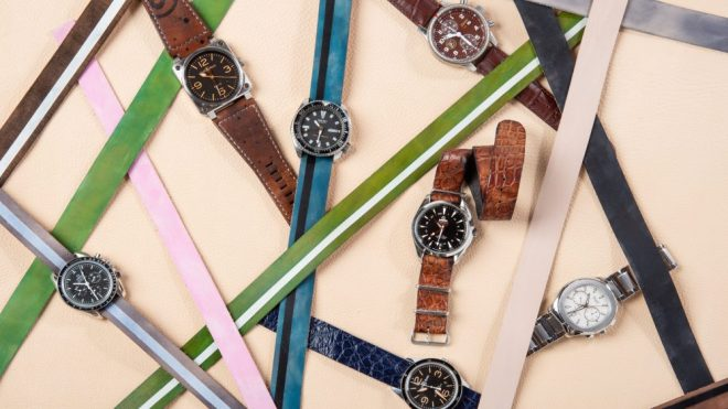 George Esquivel's colorful watch collection