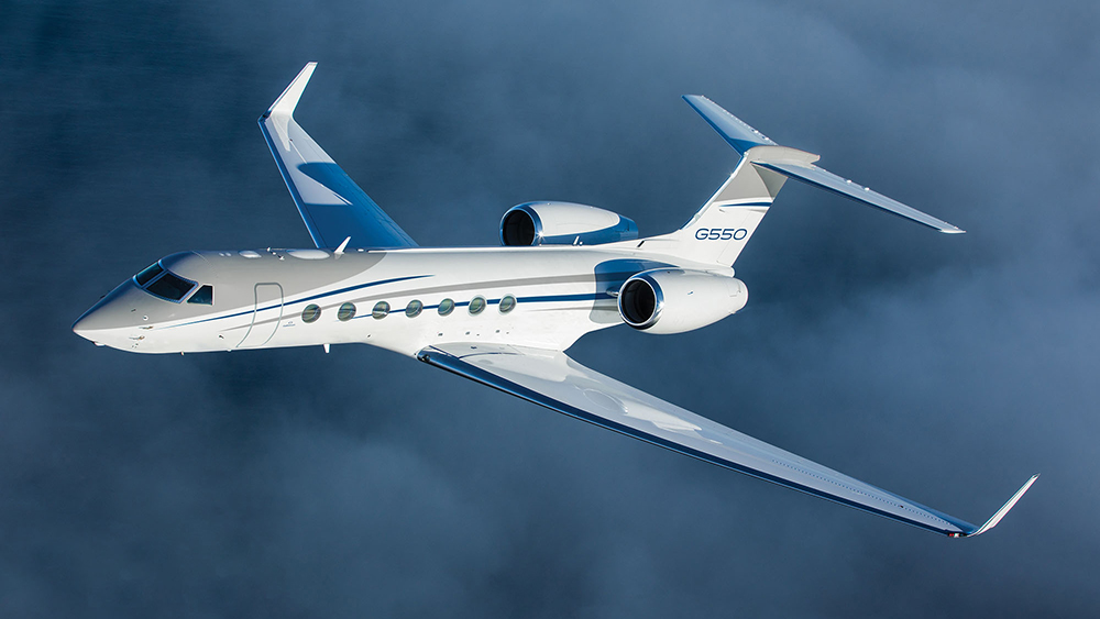 Gulfstream 550 Business Jet private aviation executive travel