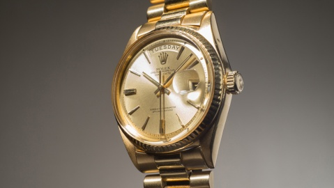 Jack-Nicklaus' Yellow-Gold Day-Date-Ref. 1803
