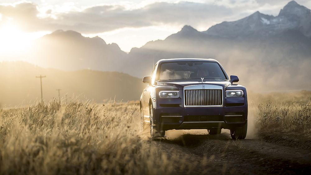 Robb Report's Best SUV 2019, the Rolls-Royce Cullinan