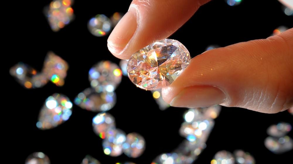 Lab-grown synthetic diamonds