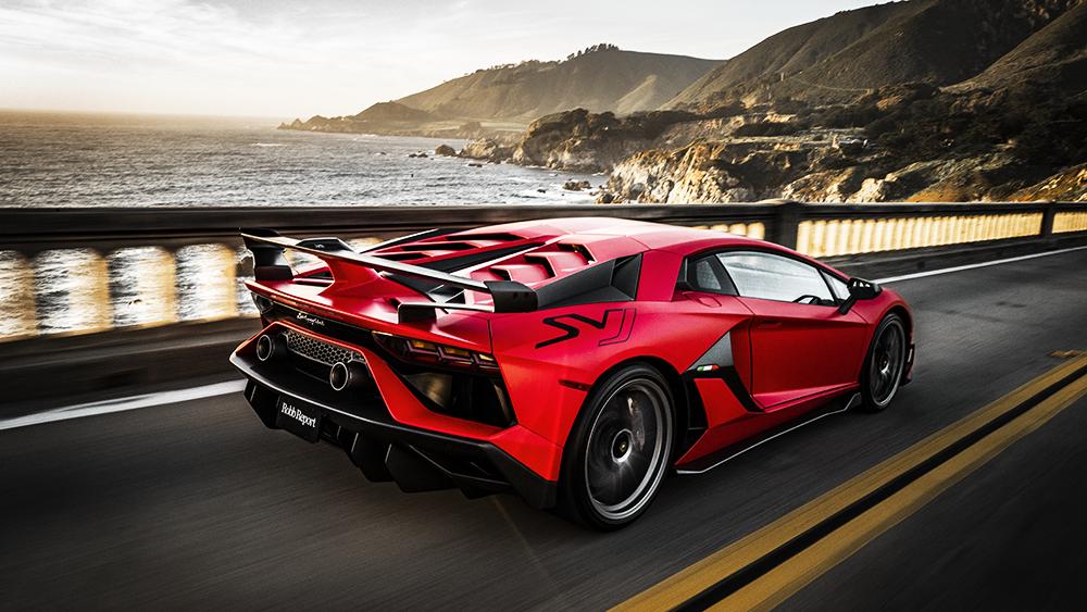 Robb Report's Best Supercar 2019, the Lamborghini Aventador SVJ