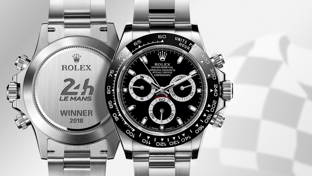 The Rolex Oyster Perpetual Cosmograph Daytona given to the winners of Le Mans.
