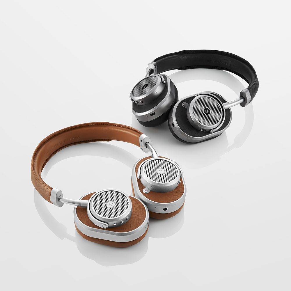 In addition to 24-hour battery life, Master & Dynamic's MW65 headphones feature a quick charge capability that gives you a 50% charge in 15 minutes.