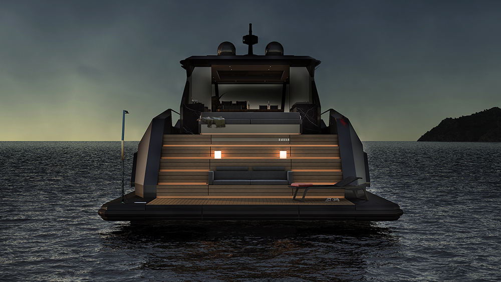 Mazu 82 yacht designer Tanju Özelgin