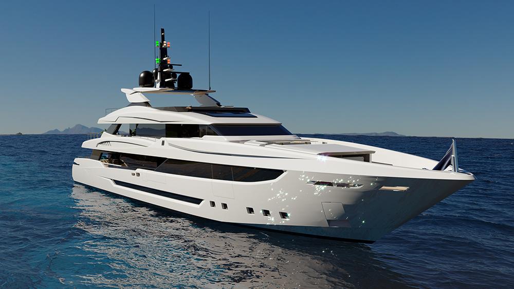 Mondomarine Classic Series Italian superyacht