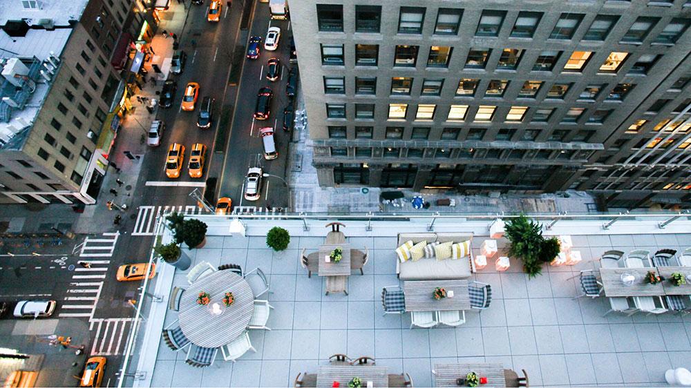 The Mondrian Terrace