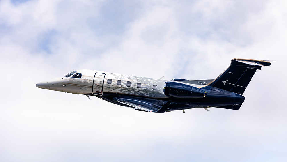 Robb Report's Best Light Aircraft 2019, the Embraer Phenom 300E