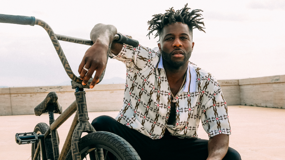 Nigel Sylvester and Fendi's first ever BMX bike
