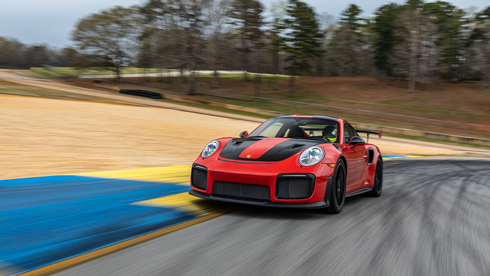 Robb Report's Best Sports Car 2019, the Porsche 911 GT2 RS
